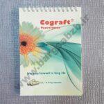 طراحی و چاپ دفترچه یادداشت - دفترچه یادداشت سیمی